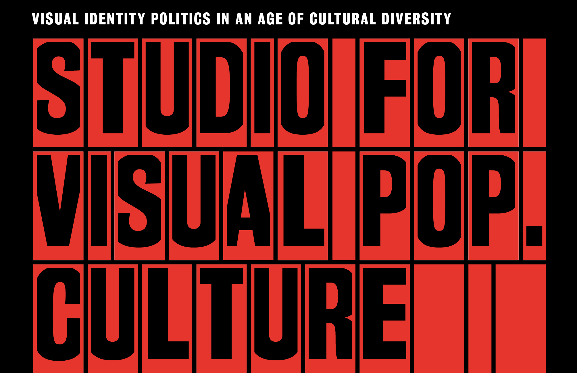 About the Studio for Visual Pop Culture